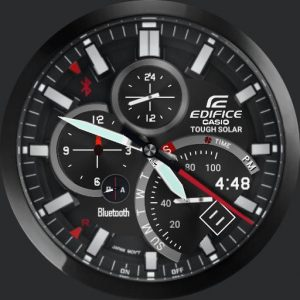 Free Download Custom Watch Face Casio Edifice Tough Solar | Free
