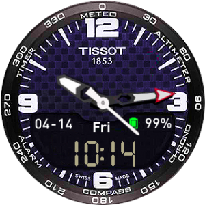 Blue Tissot Zarax DAY