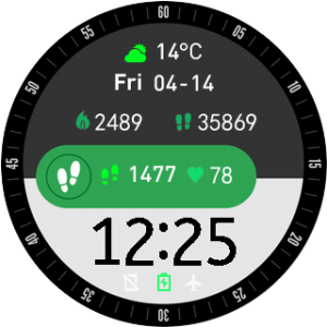 Free Download Custom Watch Face Amazfit Stratos | Free Watch Faces
